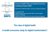 The value of digital health  conference series